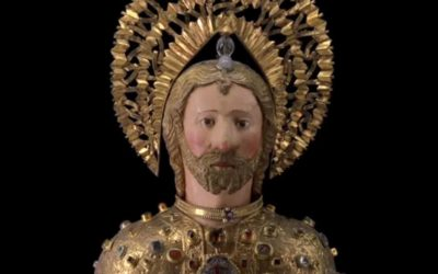 Reliquary bust of Saint James the Less