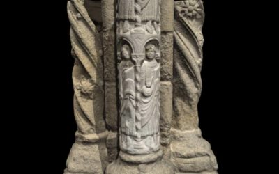 Columnas de la fachada de Platerías
