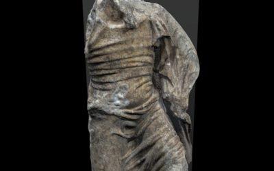 Mutilated male figure Saint Gabriel?